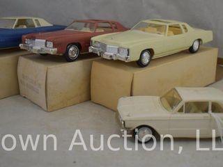 4  Dealership promo cars  3 in original box