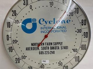 Cyclone Northern Farm Supply bubble glass thermometer