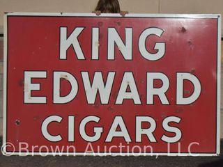 King Edwards Cigars DSP self framed sign