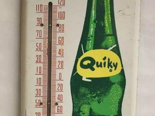 Quiky soda advertising thermometer