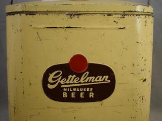 Rare 1940 s  Gettelman Milwaukee Beer  cooler