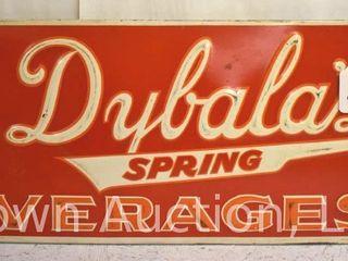 Dybala s Soda embossed sst sign