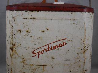 Vintage  Sportsman  beer cooler