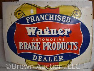 Wagner Automotive Brake Products Franchised Dealer sst sign