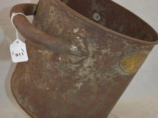 Mrkd  Demco Dairy and Creamery Equipment Co  No  1 strainer bucket