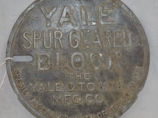 Yale Spur Geared Block 1 2T Model BB cover only
