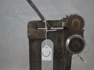 Cast Iron Progressive Shoe Machinery Co  X235 leather tool
