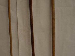 3  Wood canes