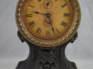 Seth Thomas Art Nouveau balloon alarm clock  10 5  tall