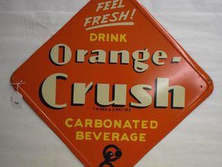Orange Crush SST self framed sign