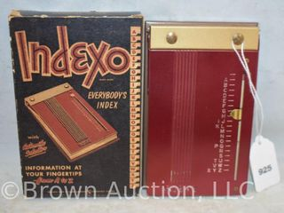 Indexo Everybody s Index  in original box