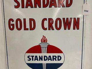 Standard Gold Crown SSP modern sign