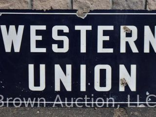 Western Union DSP advertising sign