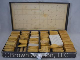 100 s of Tax Tokens in a organized case