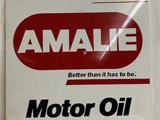 Amalie Motor Oil DST advertising sign
