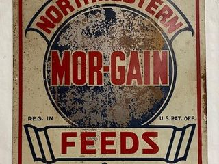 Mor Gain Northwestern Feeds SST sign