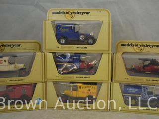 7  Matchbox Models of Yesteryear die cast vehicles