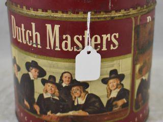 Dutch Masters Cigars tin