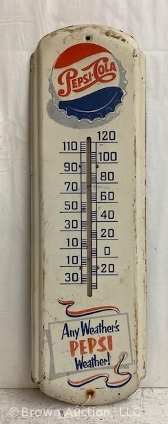 Pepsi Cola Advertising vertical thermometer  SST