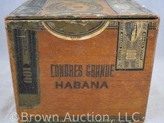 El Gibara Habana cardboard box