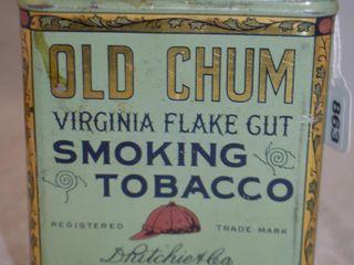 Old Chum Smoking Tobacco tin