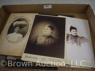 Assortment of  10  old family photographs