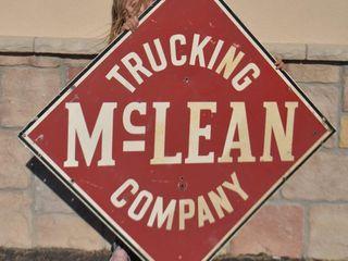 McClean Trucking Company SST diamond sign