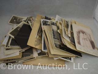 large box of old family photographs