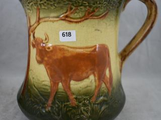 Roseville Early pitcher  Cow