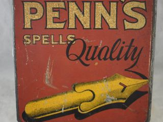 Penn s Spells Quality  chewing tobacco tin