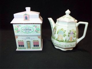 lennox Village Canister  Coffee Pot  2