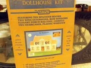 Worthington Dollhouse Kit in box