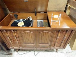 Zenith Phonograph  Radio in Cabinet
