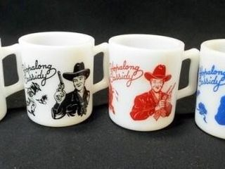 Hopalong Cassidy Mug Set  4