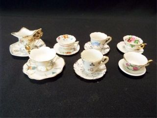 Saucers   Teacups  Mini   Japan  7