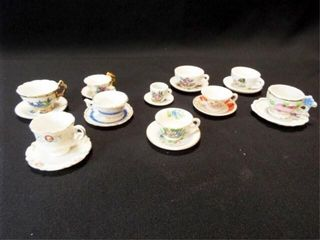 Saucers   Teacups  Mini  10
