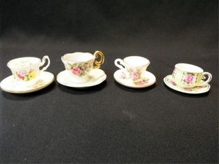 Saucers   Teacups  Mini  England  4
