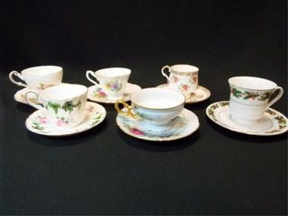 Saucers   Teacups   England  6