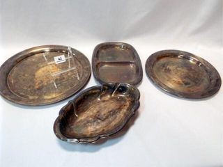 Silverplate Trays  4