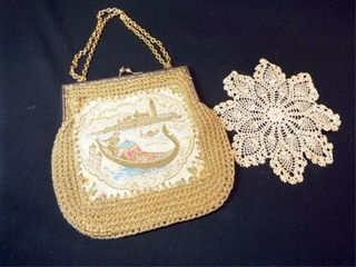 Handbag  made in Italy  Doily