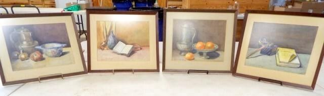 Framed Art Set   4  Grace R  Jacques