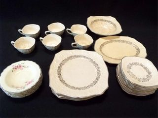 Vintage Dishes   W S  George  6