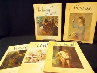 1950 s Abrams Art Books w  Prints  5