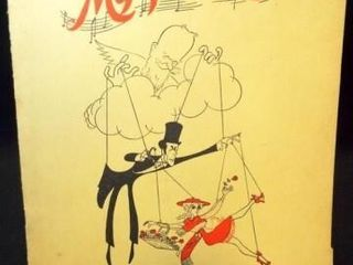 1958 My Fair lady Souvenir Book