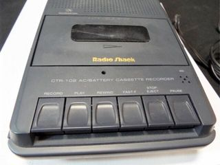 Radio Shack Cassette Player