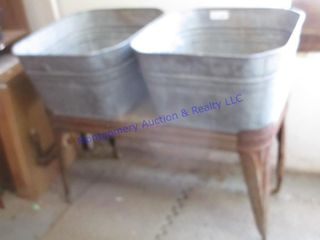 DOUBlE WASH TUBS
