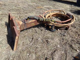 Skid Steer Mount Dutchman's Tree Wrapper Attach.
