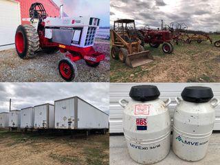 Int. Pulling Tractor - Farm Equip. - Trucks - Tools