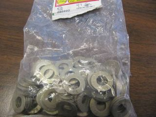 NEW lOT OF 97 HARDENED STEEl SAE 5 16  FlAT WASHERS  HEAT TREATED