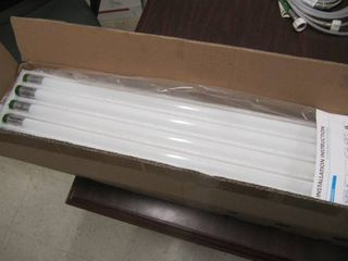 NEW lot of 15 WEN 4FT lED T8 Tube light 18W FROSTED   Ballast Bypass 6500CCT